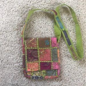 Crossbody boho purse